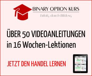 Binary option kurs