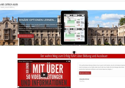 Binary Option Videokurs
