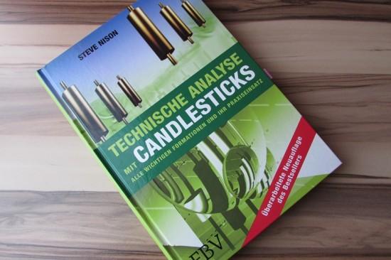 Fachlektüre über Candlestickchart und Analyse