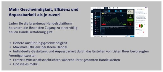 Informationen zur neuen Handelsplattform bei OptionWeb