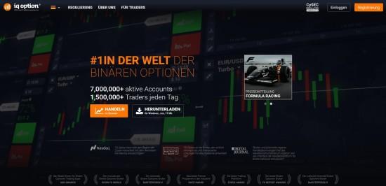 Weitere Informationen auf der Seite des Brokers IQOption