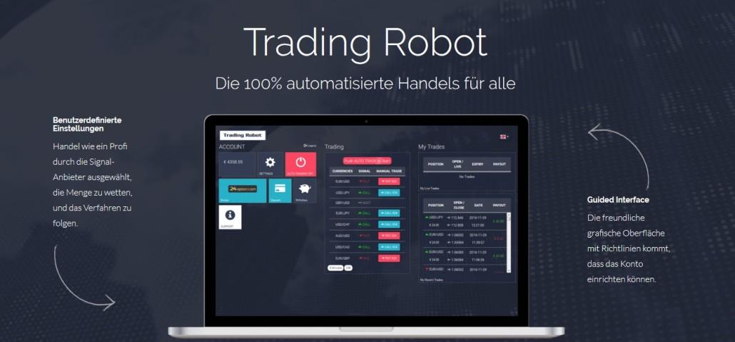 TradingRobot - Automatisch Geld verdienen