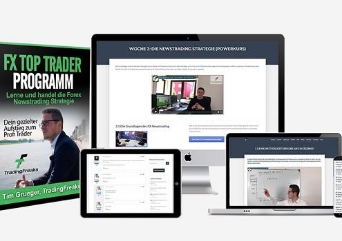 FX-Trader-Programm Newstrader werden