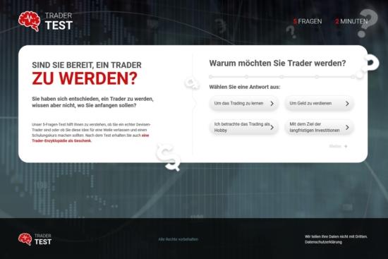 Der kleine Trader-Test beim Broker FinmaxFX